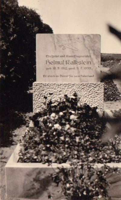 Kalkstein Grab Ostpreußen (Haverland 141)