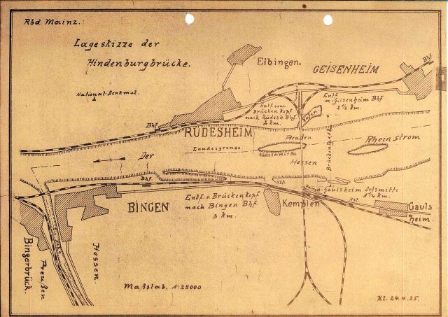 Klemm Lageskizze_der_Hindenburgbrücke_1925-04-24