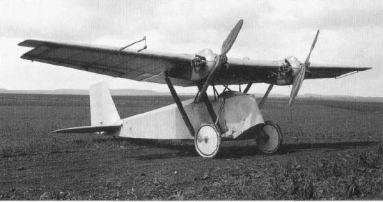 1 Klemm-Daimler L21 D-622 Deutscher Rundflug 1925 mit 2 Motoren (1)