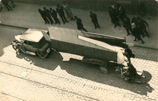 2 Deutscher Rundflug 1925 Transport