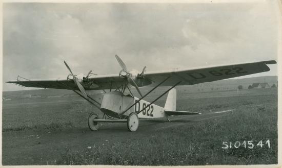 3 SiO1541 Klemm-Daimler L21 D-622 Deutscher Rundflug 1925 Pilot Friedrich Wilhelm Siebel