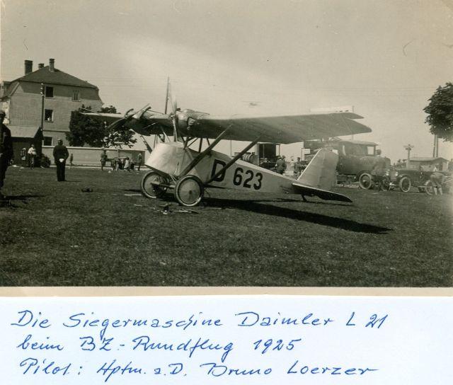 4 Deutscher Rundflug 1925 Daimler L21 D-623