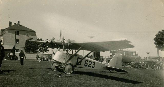 4 Deutscher Rundflug 1925 Daimler L21 D-623-