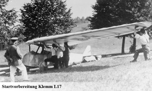 Daimler L17 Segelflug Startvorbereitung