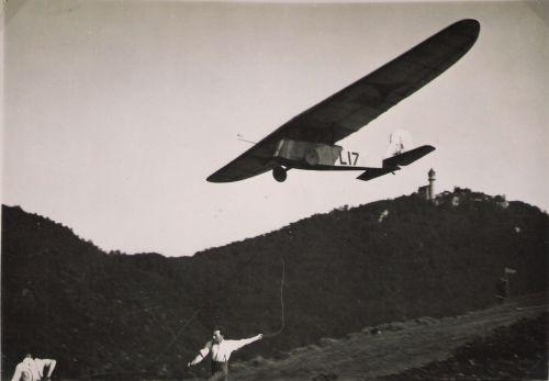 Daimler L17 Segelflug Teck Erstflug