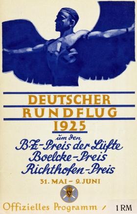 Deutscher Rundflug 1925 BZ 1rm