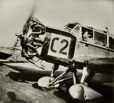 Europa Rundflug 1932 Otto Cuno 7.Platz C2 Klemm KL32 C2 (Ans_05338-02-268-AL-FL)