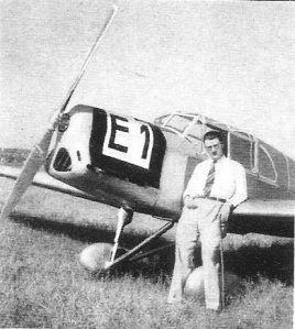 Europa-Rundflug 1932 Wolf Hirth Klemm KL32 mit 240 PS (Supf)