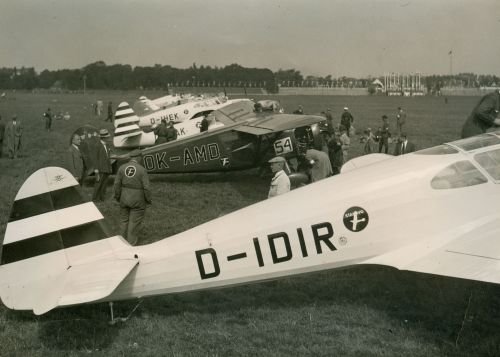 Europa Rundflug 1934 Warschau D-IDIR 26 Fritz Morzik 1