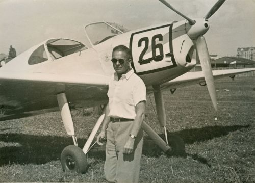 Europa Rundflug 1934 Warschau D-IDIR 26 Fritz Morzik