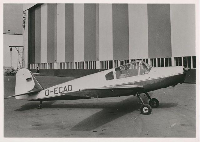 Klemm KL107 B auf Parkposition 1957_2 (HdG)