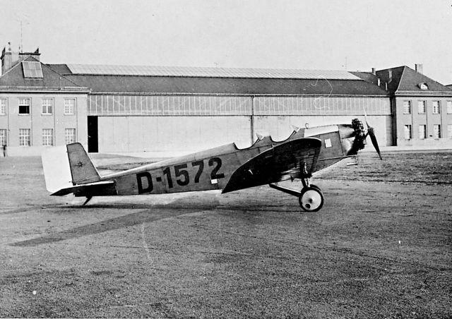 Klemm KL25 D-1572 Flughafen Böblingen 1928