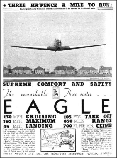 British Aircraft EAGLE 1936-4