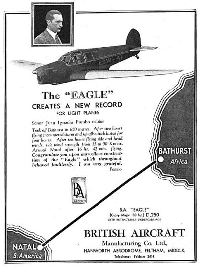 British Aircraft EAGLE (Flight May 30th 1935)