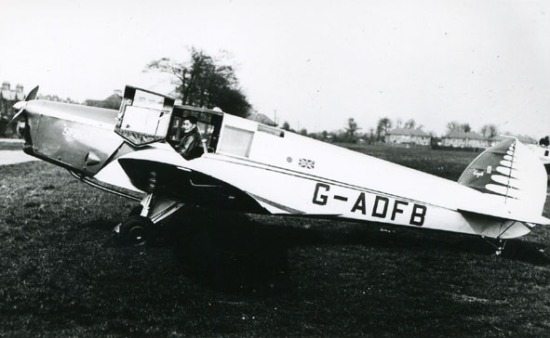 British Klemm Eagle 2, G-ADFB
