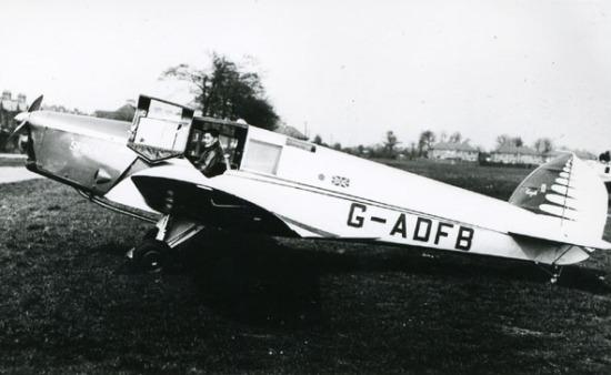 British Klemm Eagle 2, G-ADFB