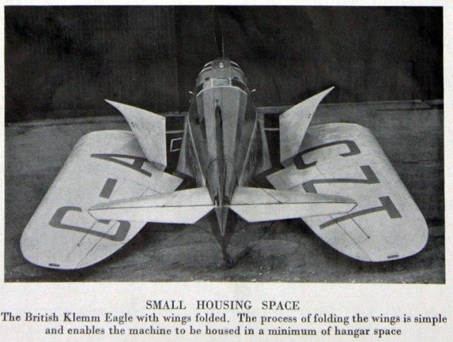British Klemm Eagle G-ACZT (2)