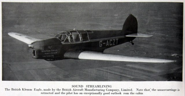 British Klemm Eagle G-ACZT (3)