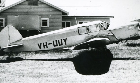 British Klemm Eagle VH-UUY