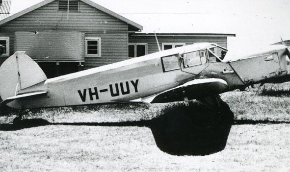 British Klemm Eagle VH-UUY