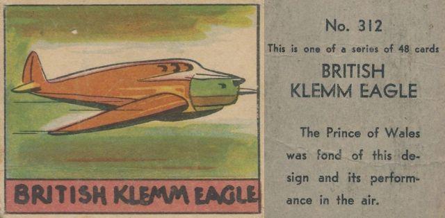 British Klemm Eagle