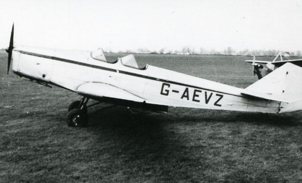 British Klemm Swallow II G-AEVZ