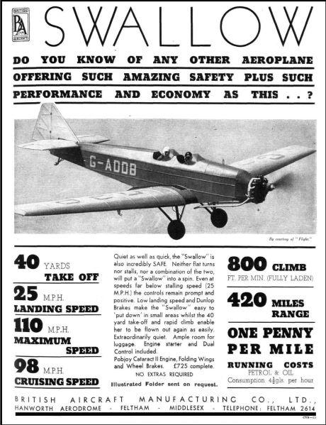 BritishAircraft-Swallow-1936-1