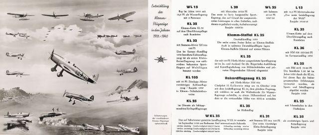 klemmflugzeuge 1918-1940