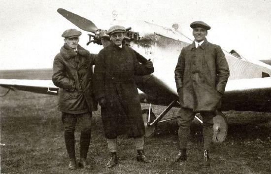 Alpenflug 1926 Hans Guritzer, Hanns Klemm u. Werner von Langsdorff (HdG)_cut