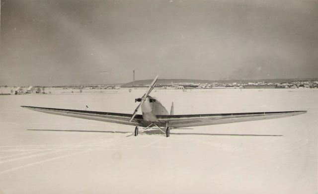 Daimler-Klemm L20 Prototyp zweisitzig Winter