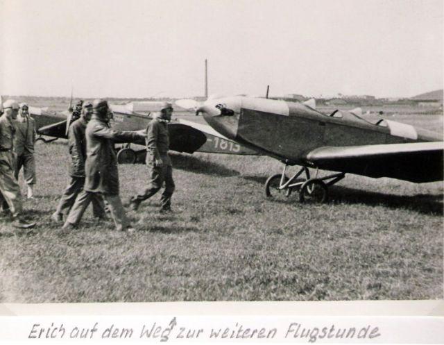 Fliegerschule Klemm-Flug Erich