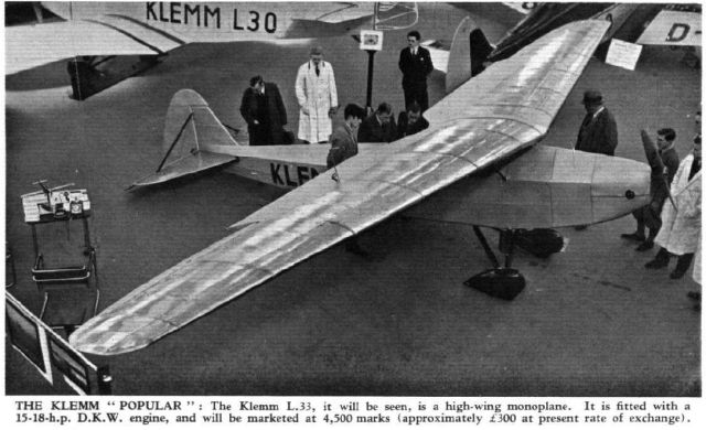 1932 - 1026 Klemm KL 33