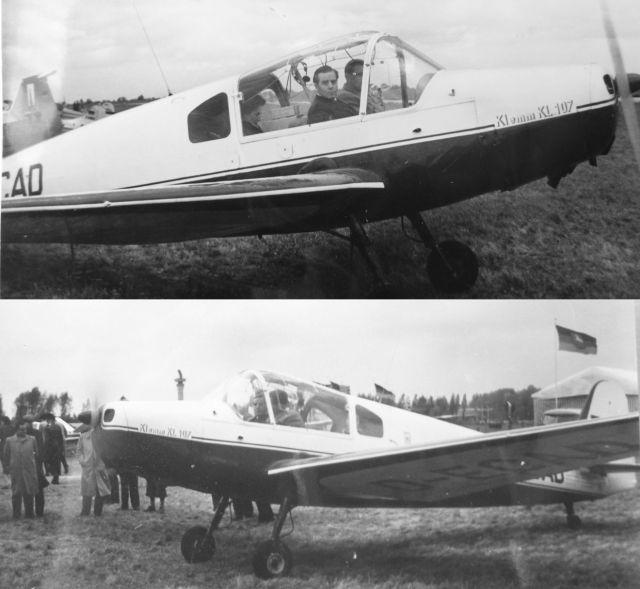 Klemm KL 107 D-ECAD Hannover 1957 2