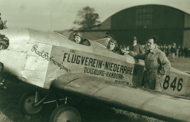 Klemm KL26 D-1846 Karl Bohnenkamp Flugverein