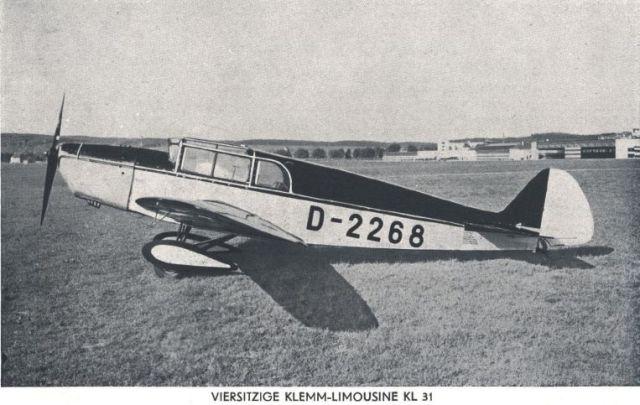 Klemm KL31 D-2268 BB (2)
