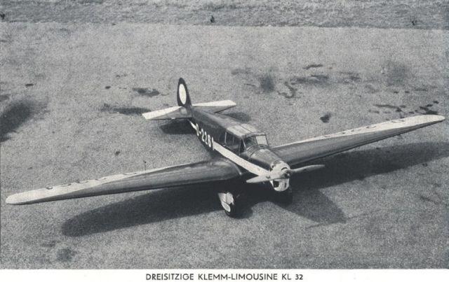 Klemm KL32 3-sitzig