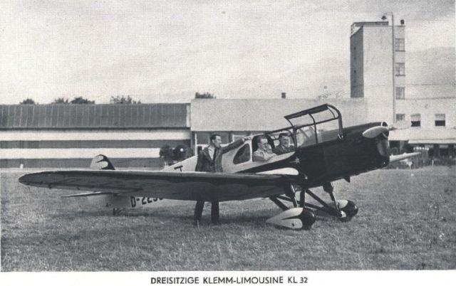 Klemm KL32 - 3-sitzig