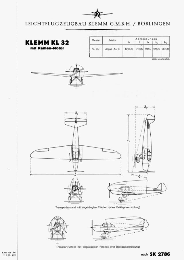 Klemm KL32
