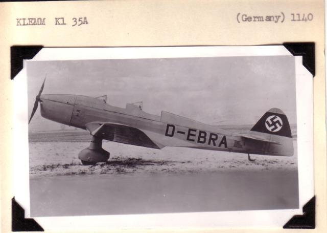 Klemm KL35 D-EBRA