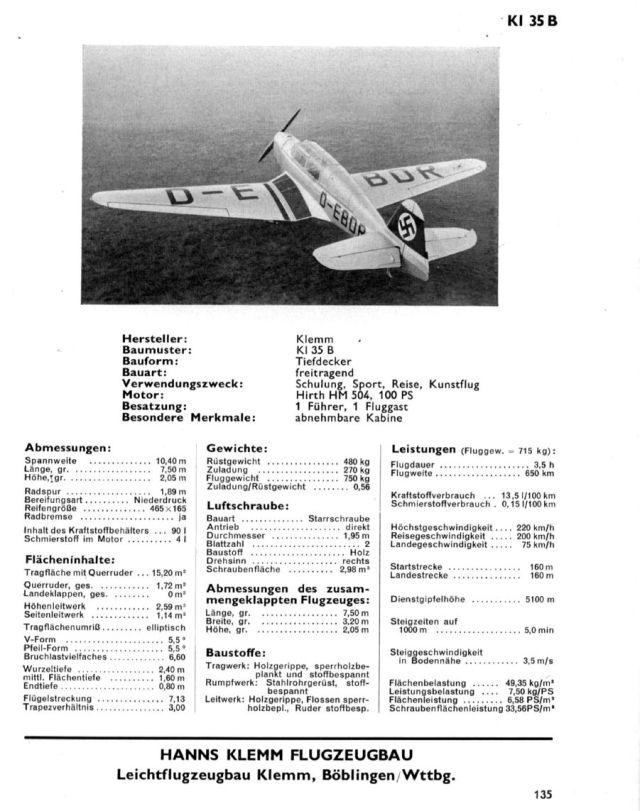 Klemm KL35B Hirth HM504 100PS Kabine (2)