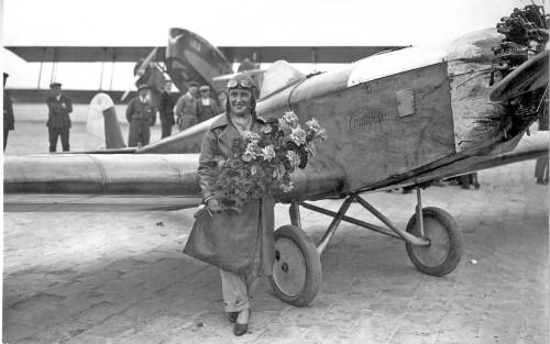 1930 Maryse Bastié Klemm-Trotinette