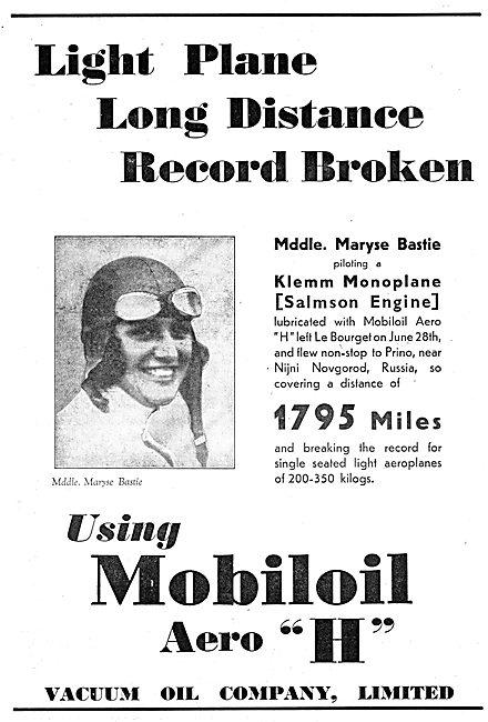 Klemm Maryese Bastie (Aeroplane July 15th 1931)